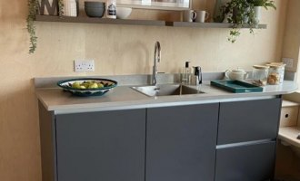 Kitchens By Emma Reed Donates Kitchen for DIY SOS Project