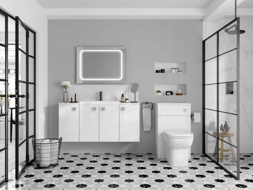 Ensuite bathrooms add a modern look