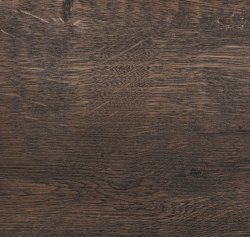 woodgrain style worktop surface with slight orange tinges within, giving impression of volcanic wood.