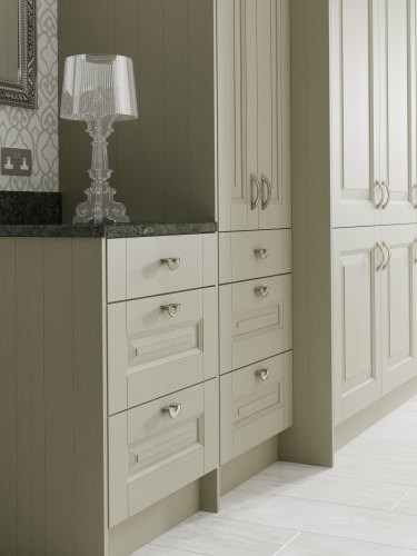 create a traditional look with shaker kitchens