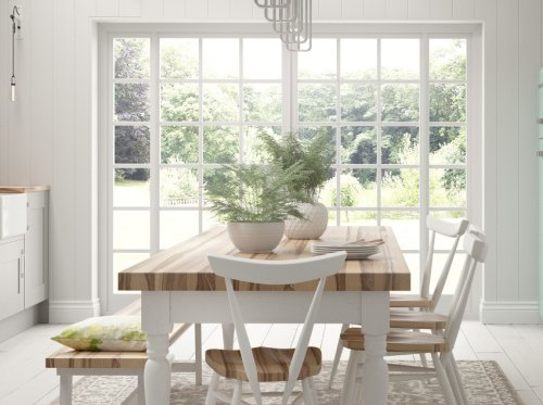 scandinavian kitchen style calls for plant life & Creating a scandinavian kitchen style with cranbrook by symphony