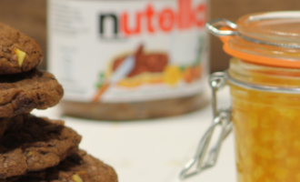Nutella Cookies from Peter Sidwell