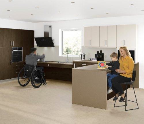accessible kitchen from freedom