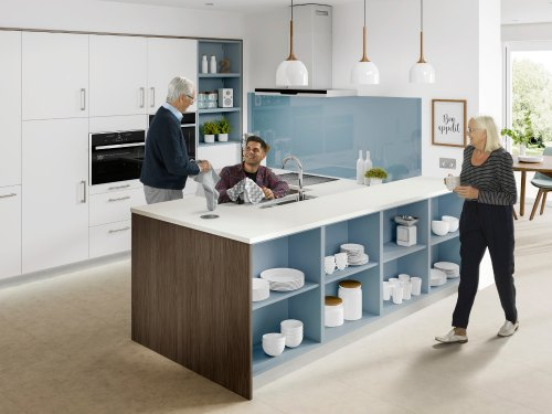multi generational living kitchen from freedom
