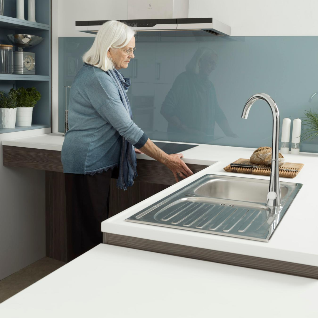 Rise and Fall Worktops