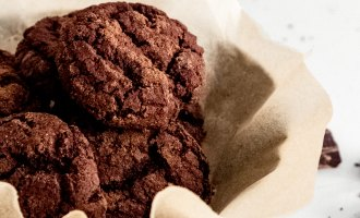 Peter Sidwell Recipes: Chocolate Shortbread Cookies