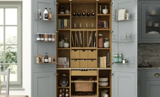 Getting Organised in the Kitchen with a Classic Pantry