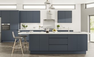 Exploring the Blue Kitchen Trend