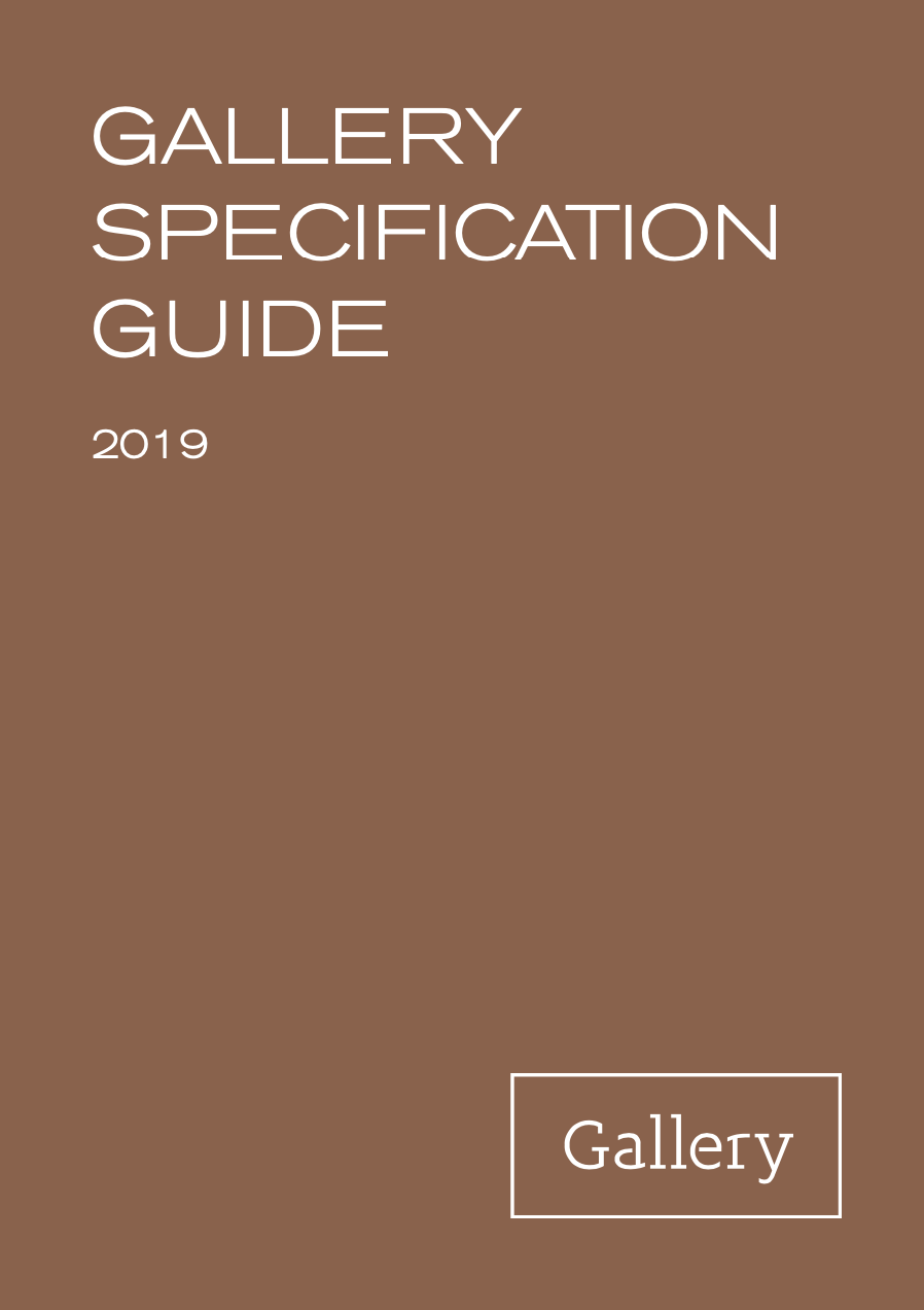 Gallery Specification Guide